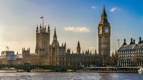 Grande Ben London, Regno Unito Immagini Stock Libere da Diritti