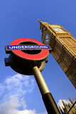 Grande Ben, Londra Fotografia Stock Libera da Diritti