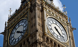 Grande Ben a Londra Inghilterra Fotografie Stock Libere da Diritti