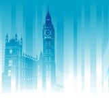 Grande ben, Londra, Inghilterra Fotografia Stock Libera da Diritti