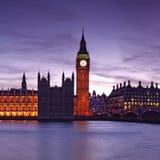 Grande Ben, Londra - Inghilterra Fotografia Stock