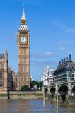 Grande Ben Londra Inghilterra Fotografie Stock Libere da Diritti