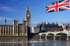 Grande Ben, Londra, Regno Unito Immagini Stock