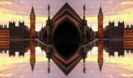 Grande Ben, Londra, Regno Unito Fotografia Stock Libera da Diritti