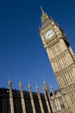 Grande Ben su cielo blu Fotografia Stock Libera da Diritti