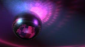 Grande bille de disco Images libres de droits