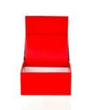 Grande boîte rouge Image stock