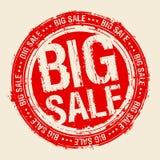 Grande bollo di vendita. Fotografia Stock
