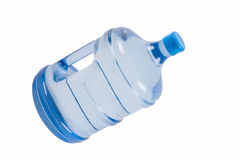 Grande bottiglia di acqua purificata fotografia stock