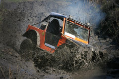 Grande boue Image libre de droits