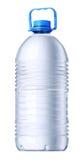 Grande bouteille de plastique de gallon Photos libres de droits