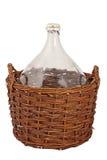 Grande bouteille de vin Photos libres de droits