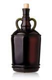 Grande bouteille de vin Images libres de droits