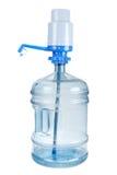 Grande bouteille en plastique pour l'eau et la splendeur photos stock