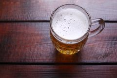 Grande brocca della birra Immagini Stock