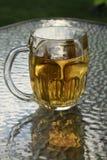 Grande brocca della birra Fotografia Stock