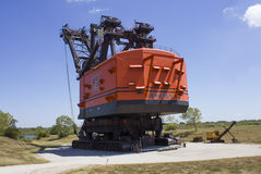 Grande Brutus Electric Coal Mining Shovel Fotografie Stock Libere da Diritti