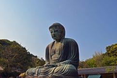 A grande Buda de Kamakura Fotos de Stock Royalty Free