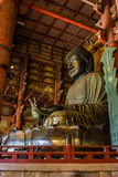 Grande Buda no templo de Todai-ji Fotografia de Stock