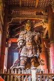 A grande Buda no templo de Todai-ji em Nara, Japão Foto de Stock Royalty Free