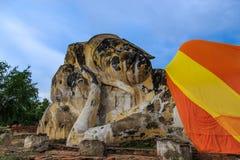 Grande buddha adagiantesi Fotografie Stock