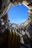 Grande Buddha al tempio di Srichum immagine stock