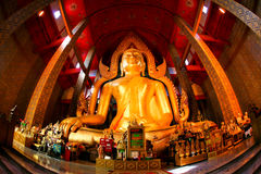 Grande Buddha, Angthong, Tailandia immagini stock libere da diritti