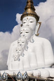 Grande Buddha bianco Immagini Stock Libere da Diritti