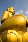 Grande Buddha dorato Immagini Stock Libere da Diritti