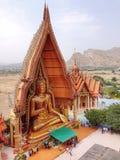 Grande Buddha dorato Fotografia Stock Libera da Diritti