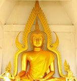 Grande Buddha imaga2 Fotografia Stock