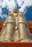 Grande Buddha in Ladakh Immagini Stock Libere da Diritti