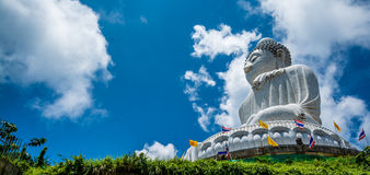 Grande Buddha a Phuket Tailandia Immagini Stock