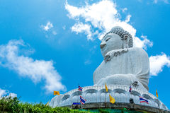 Grande Buddha a Phuket Tailandia Fotografia Stock Libera da Diritti