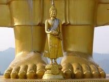 Grande Buddha piccolo Buddha Fotografie Stock Libere da Diritti