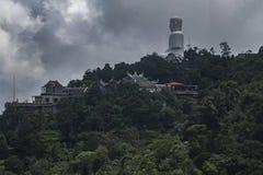 Grande Buddha sulla montagna Fotografie Stock Libere da Diritti