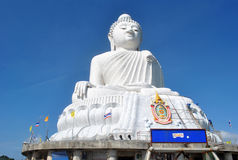 Grande Buddha thailand Fotografia Stock