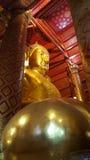 Grande Buddha in Wat Phananchoeng, Ayutthaya Fotografia Stock Libera da Diritti