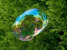 Grande bulle de savon Photographie stock libre de droits