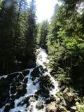 A grande cachoeira foto de stock