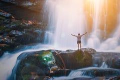 Grande cachoeira Fotos de Stock Royalty Free