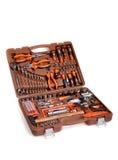 Grande caixa de ferramentas Foto de Stock Royalty Free
