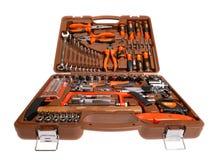 Grande caixa de ferramentas Fotografia de Stock Royalty Free