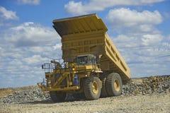 Grande caminhão de mineração Imagens de Stock