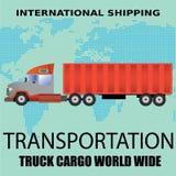 Grande camion Immagini Stock