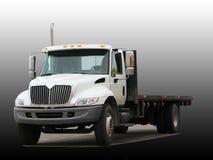 Grande camion con la piattaforma piana Fotografia Stock Libera da Diritti