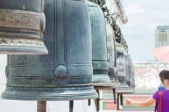 Grande campana del tempio Fotografia Stock