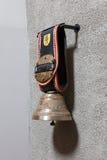 Grande campana tradizionale della mucca dalle alpi svizzere Fotografia Stock Libera da Diritti