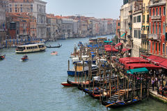 Grande Canal in Venice Royalty Free Stock Photos