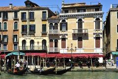 Grande Canale στη Βενετία Στοκ Εικόνες